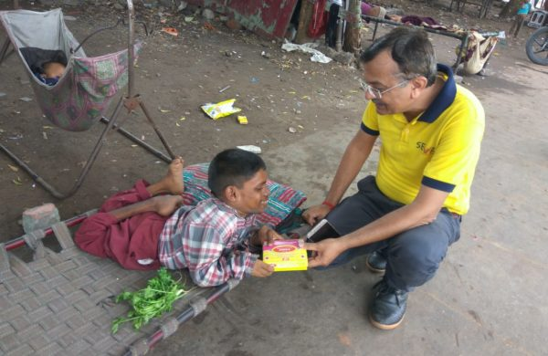 Distribution of Joy on Diwali